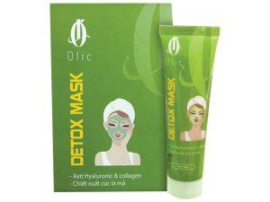 mặt nạ thải độc detox mask olic