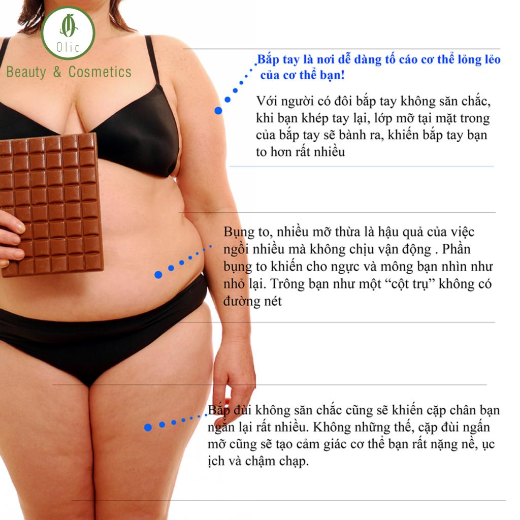Giảm mỡ theo từng vùng cơ thể