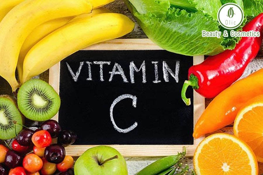 tác dụng của vitamin c với làn da