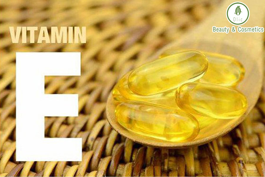 vitamin E với làn da
